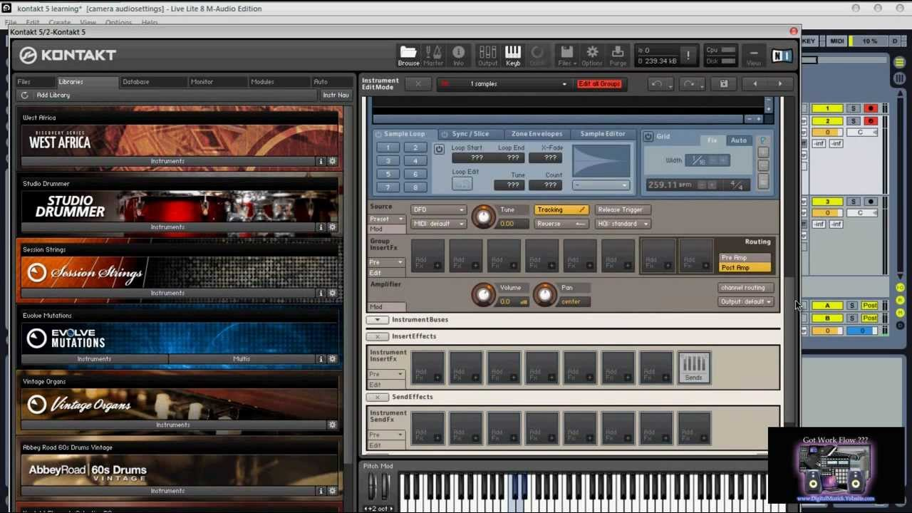 Kontakt 5 + Crack + Serial Key Free Download
