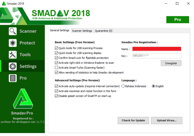 Smadav Pro 2020 Keygen Free Download