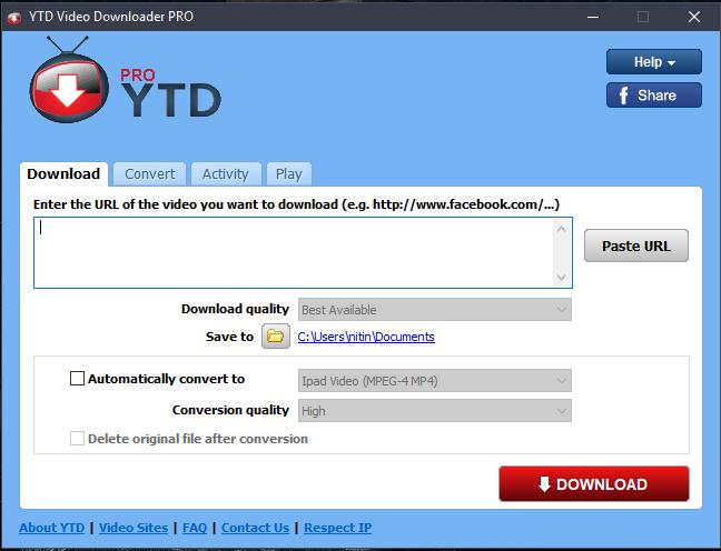 YTD Video Downloader Pro 6 6 28 Crack Free Download