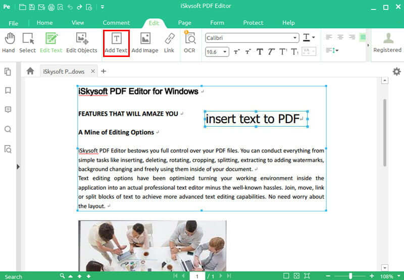 iSkysoft PDF Editor Pro 6.3.32782 Crack Free Download