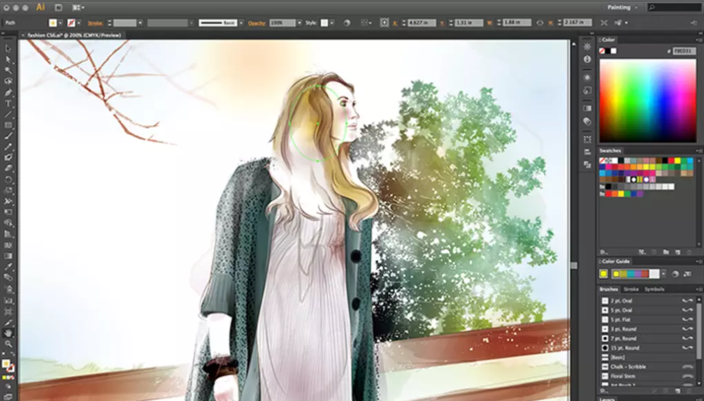 Adobe Illustrator CC 2019 v23.0.1.540 Crack Free Download