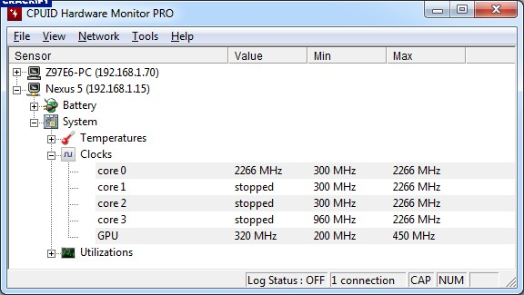 CPUID HWMonitor Pro 1.38 Crack Free Download