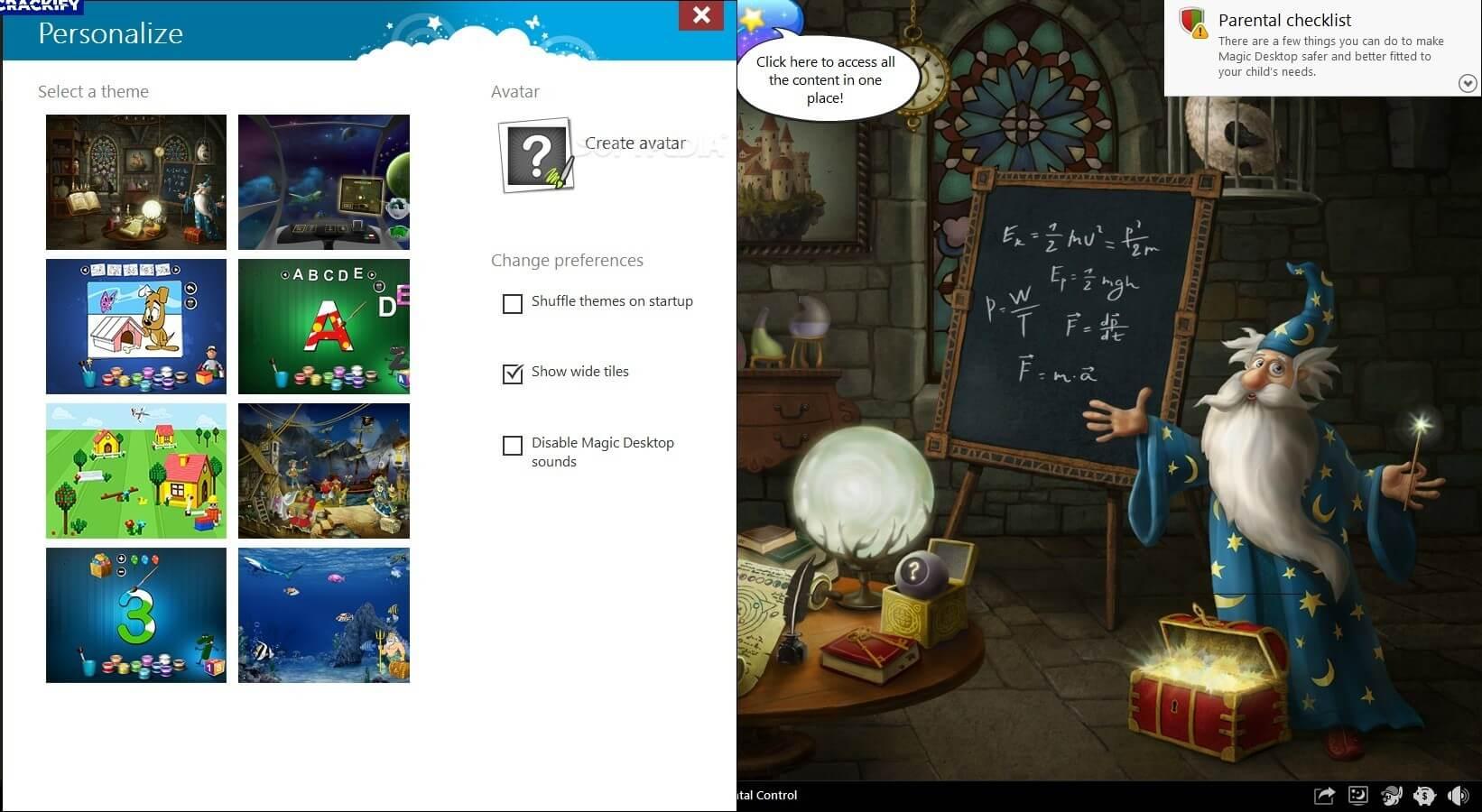 EasyBits Magic Desktop 9.5 Crack Free Download