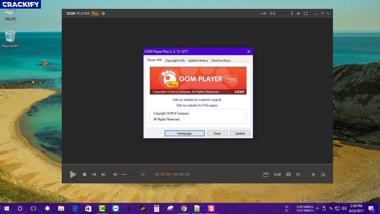 GOM Player Plus 2 3 Crack Free Download