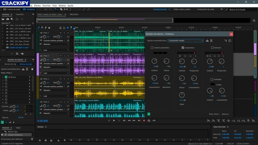 Adobe Audition CC Screenshot 2