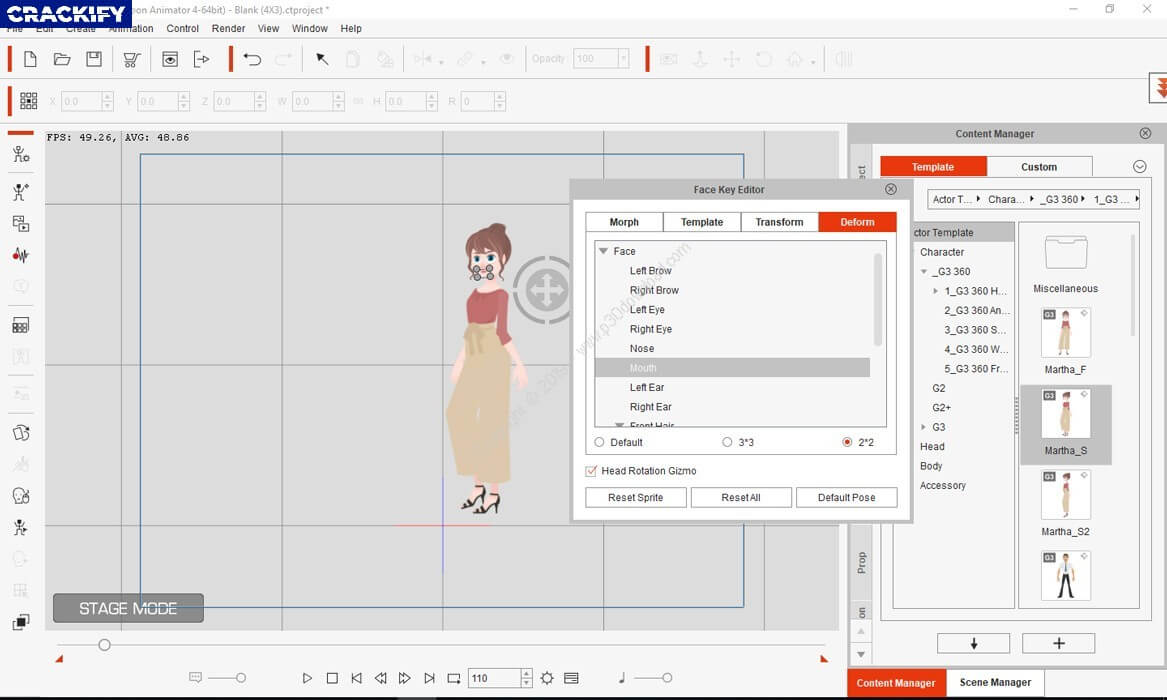 Cartoon Animator Screenshot 1