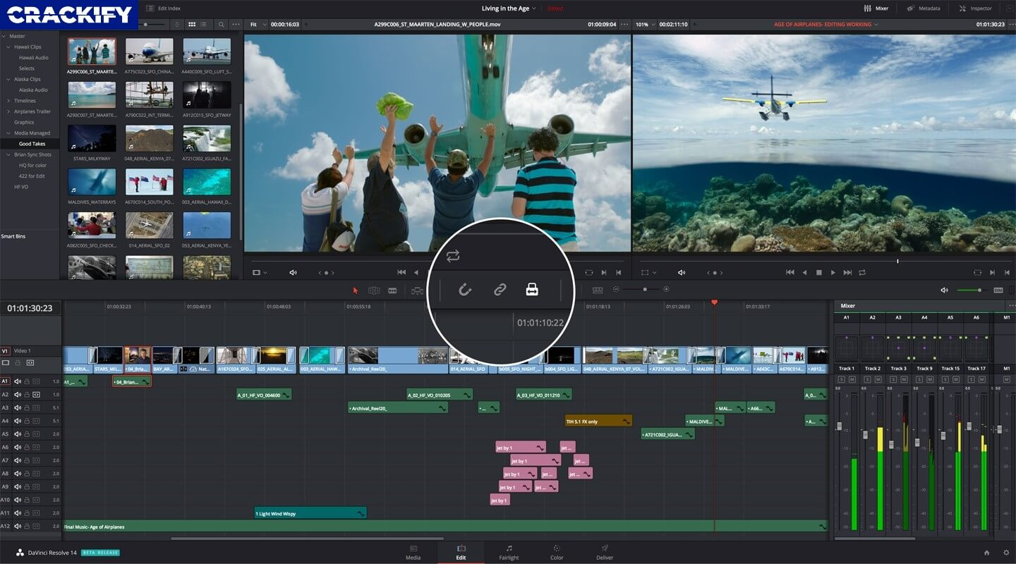 DaVinci Resolve Studio Crack Screenshot 1