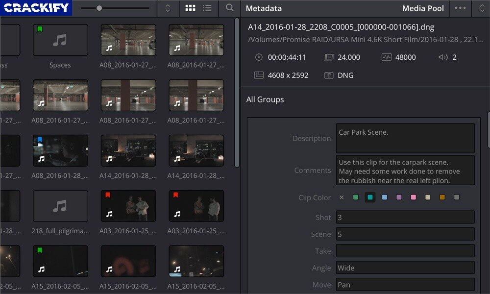 DaVinci Resolve Studio Crack Screenshot 2