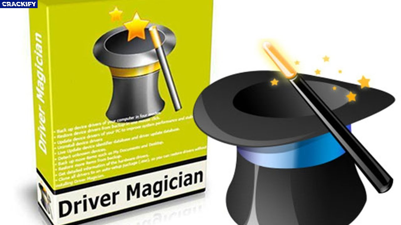 Driver Magician Cover