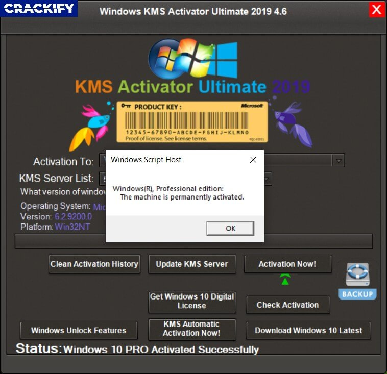 KMS Activator Windows 10 Ultimate Free Download