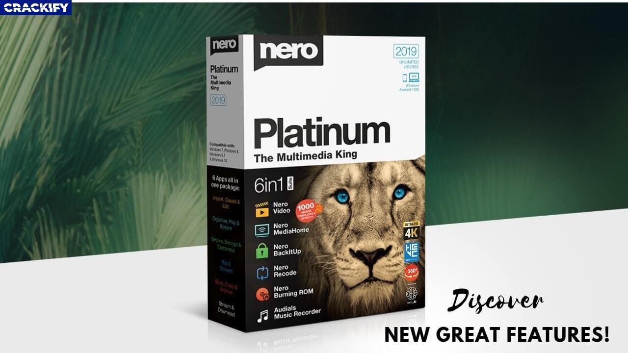 Nero Platinum Suite Cover
