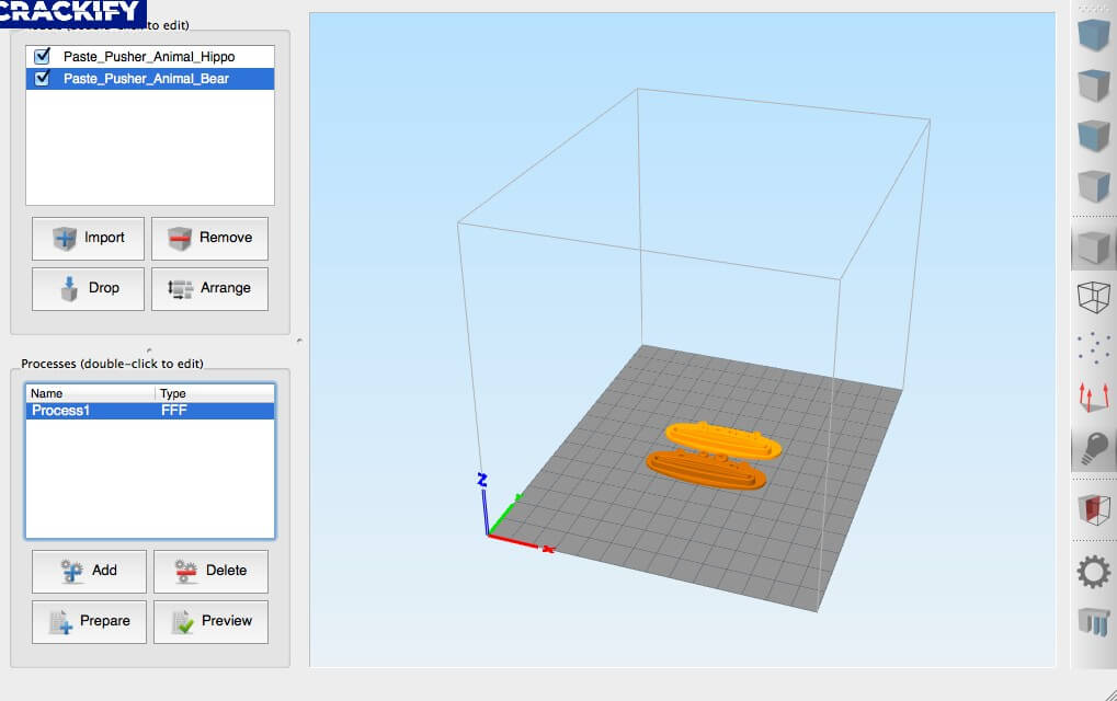 Simplify3D Screenshot 1