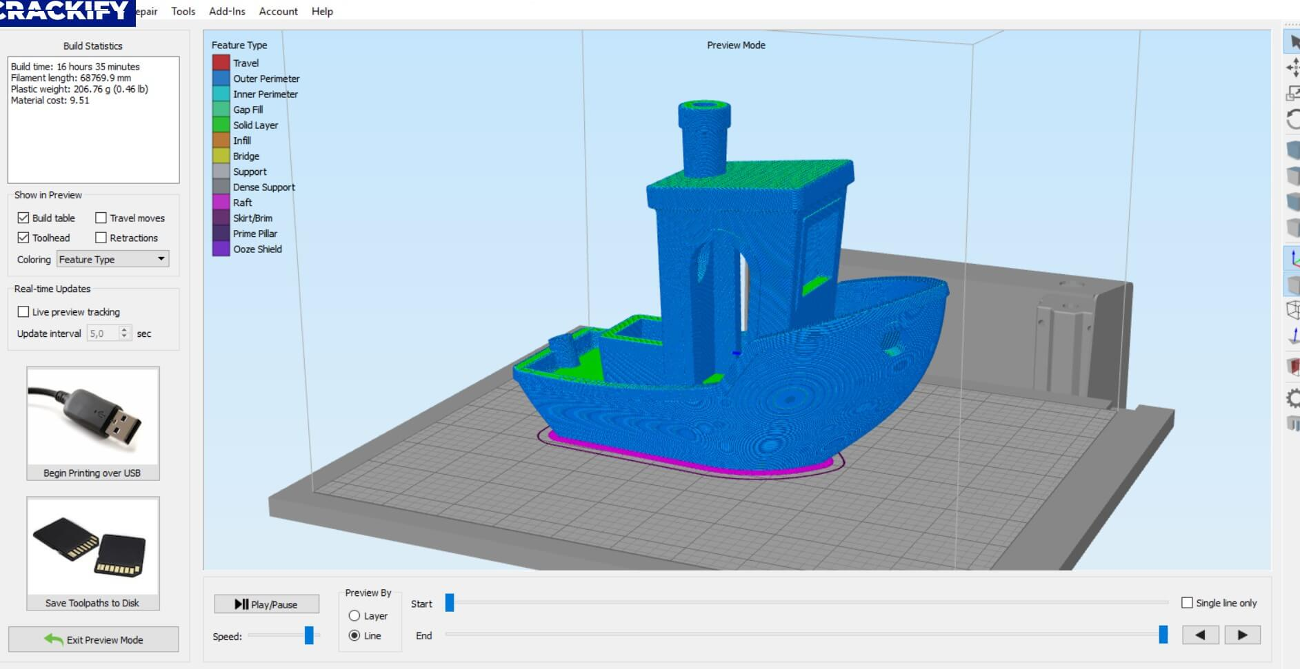 Simplify3D Screenshot 2