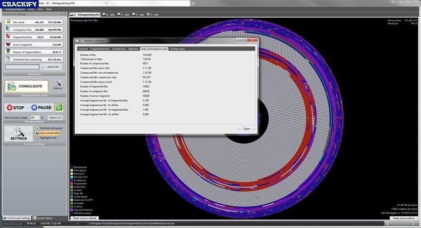 DiskTrix UltimateDefrag Latest Version Screenshot 1