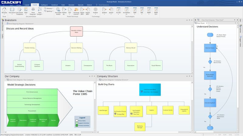 Enterprise Architect Screenshot