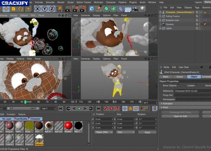 Maxon CINEMA 4D Studio Screenshot