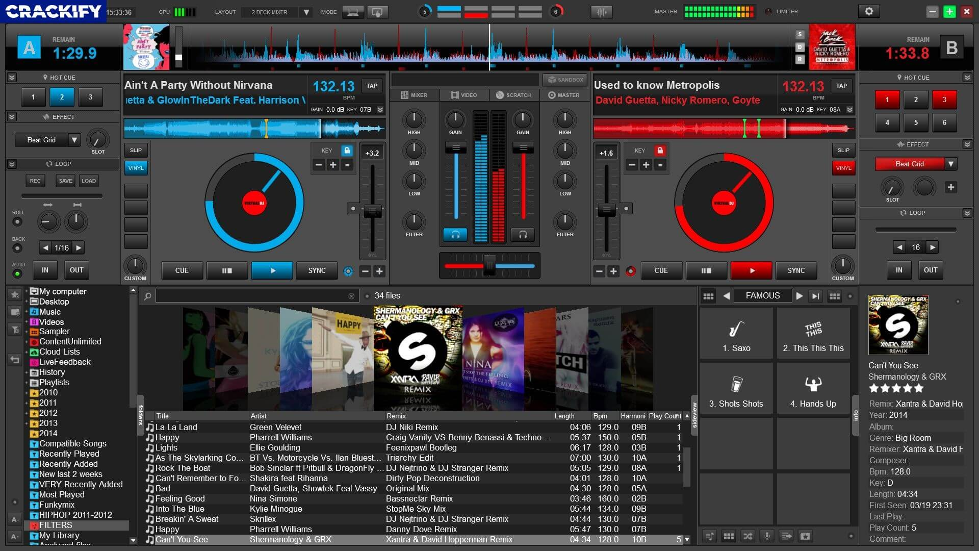 Virtual DJ Pro Infinity Screenshot