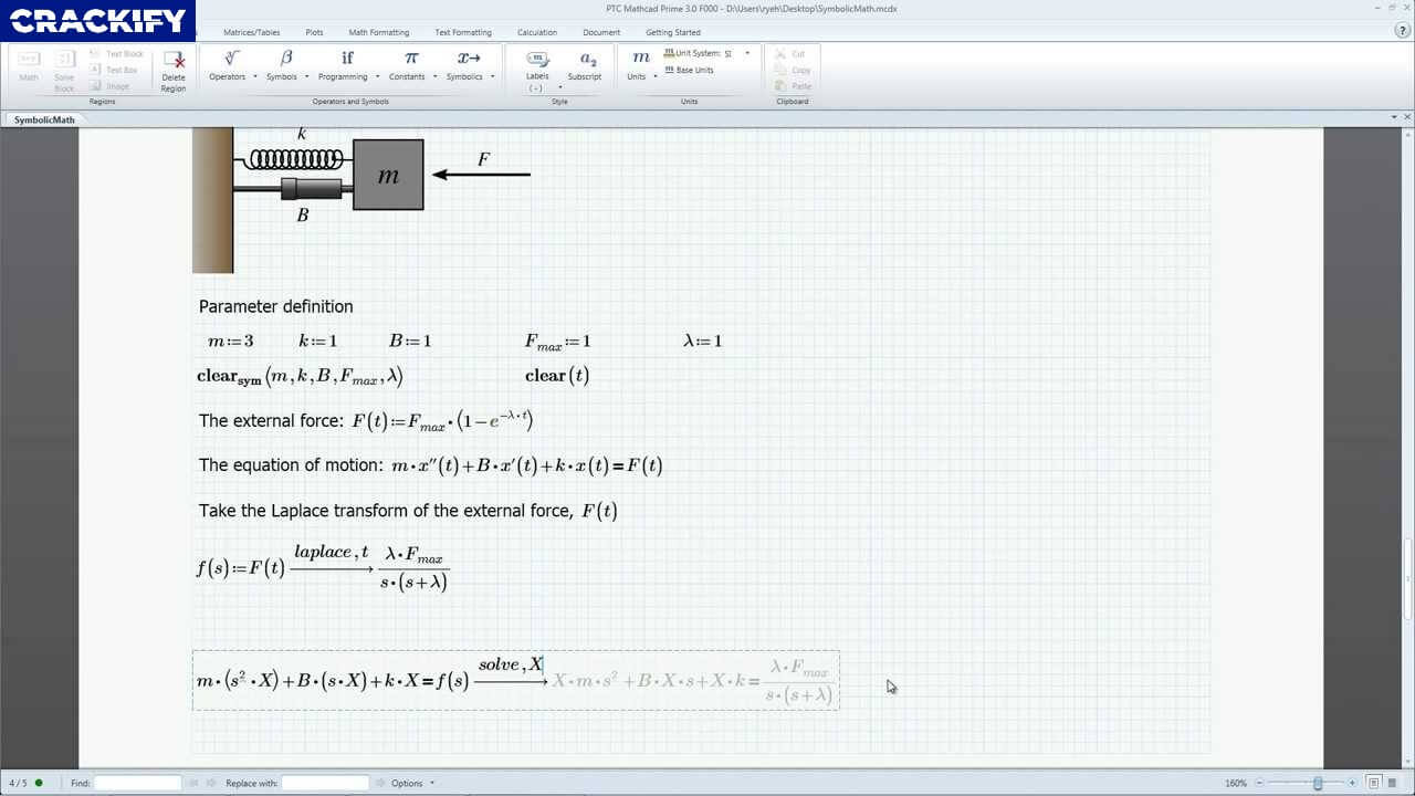 PTC Mathcad Prime Screenshot