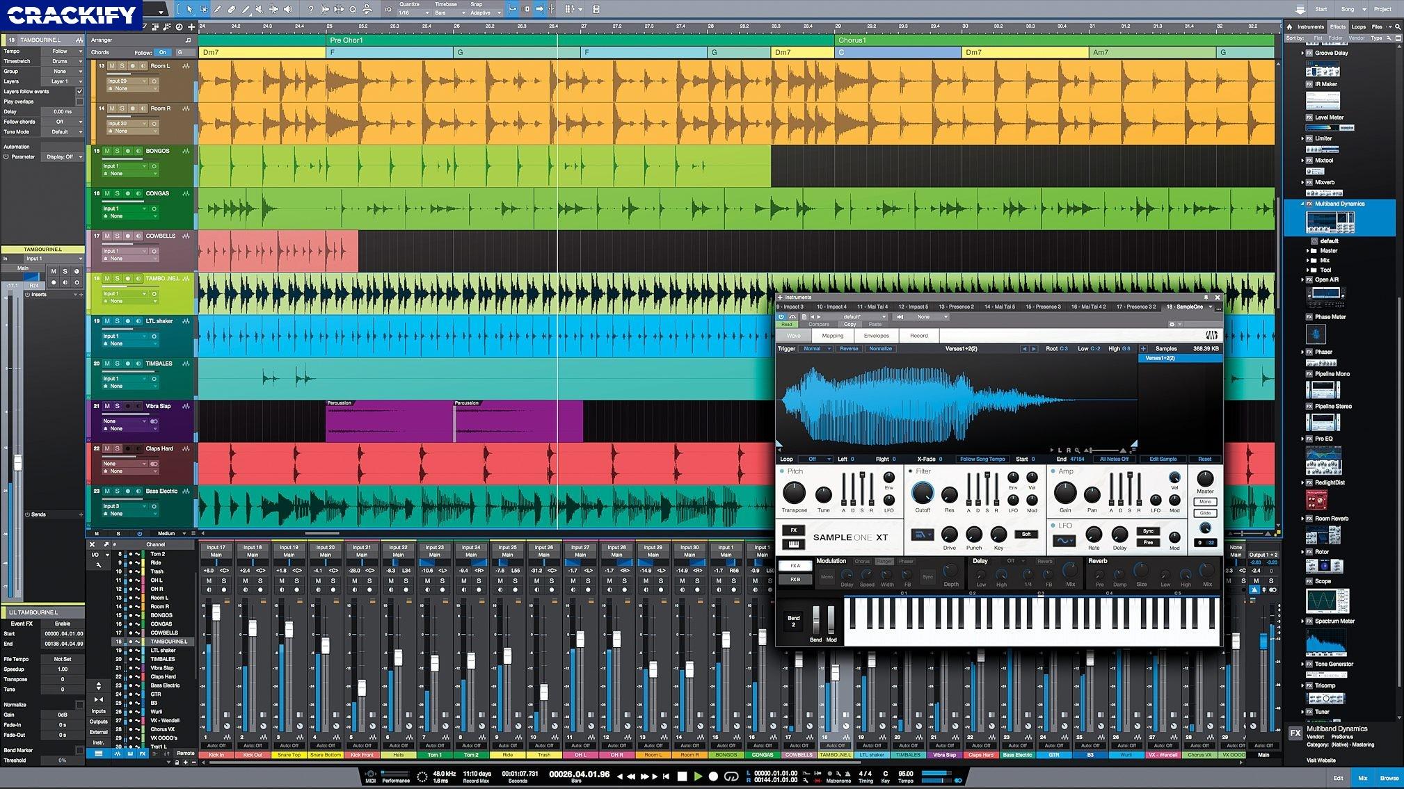 Studio One Pro Keygen Crack Download