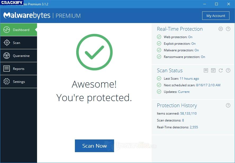 Malwarebytes Premium Screenshot