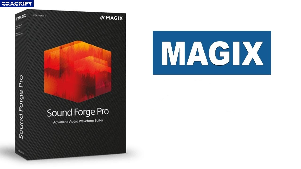 MAGIX SOUND FORGE Audio Studio Logo