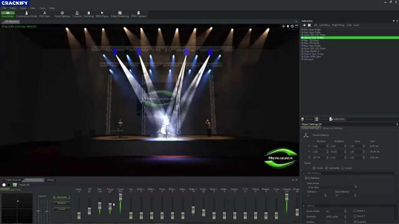 Realizzer 3D Studio Screenshot
