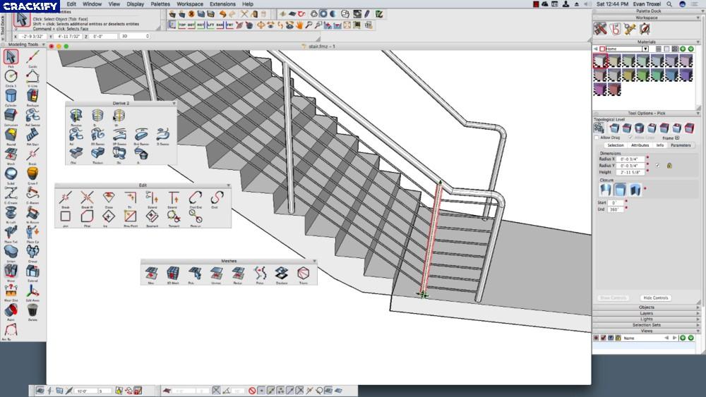 formZ Pro Screenshot