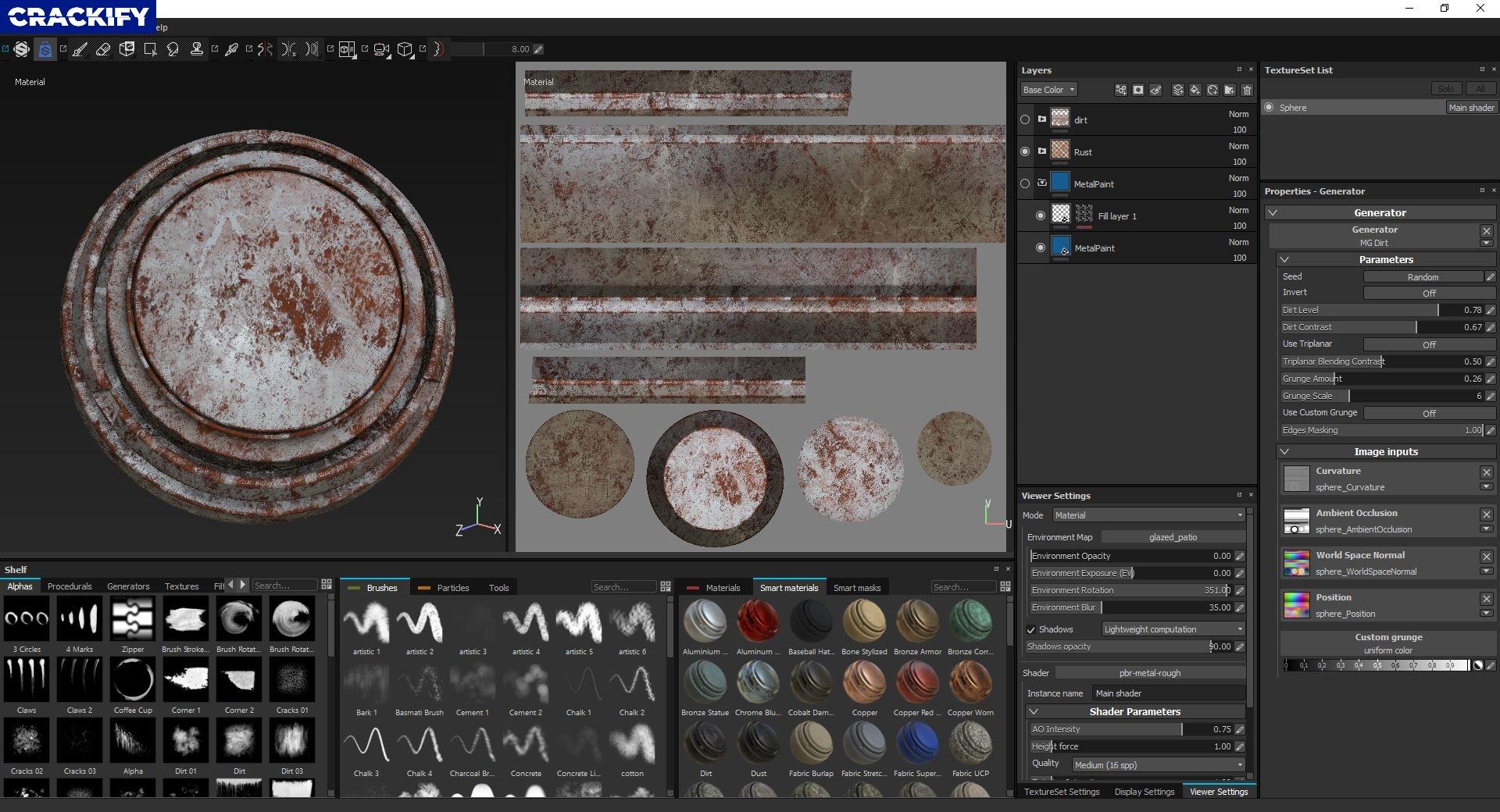 Substance Designer Screenshot