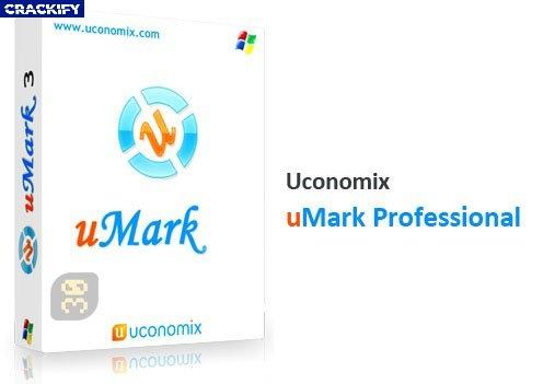 Uconomix uMark Professional Logo