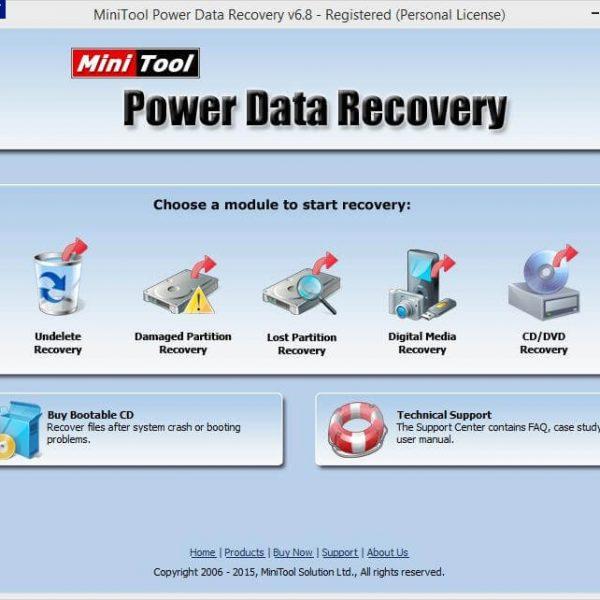 MiniTool Power Data Recovery Logo
