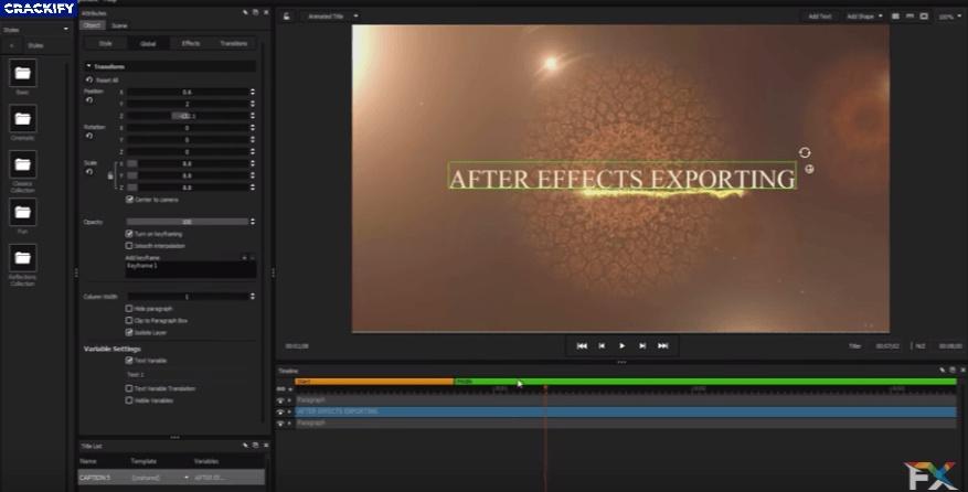 NewBlueFX Titler Pro Ultimate Crack Key Free Download