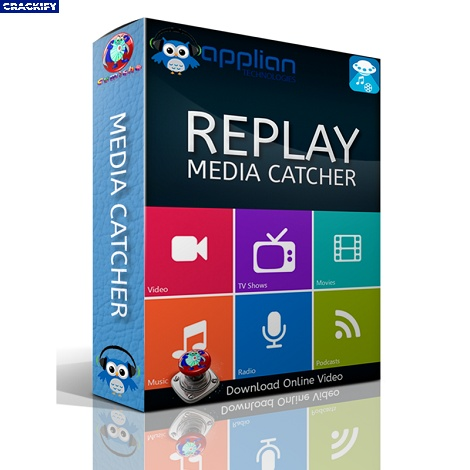 Replay Media Catcher Logo