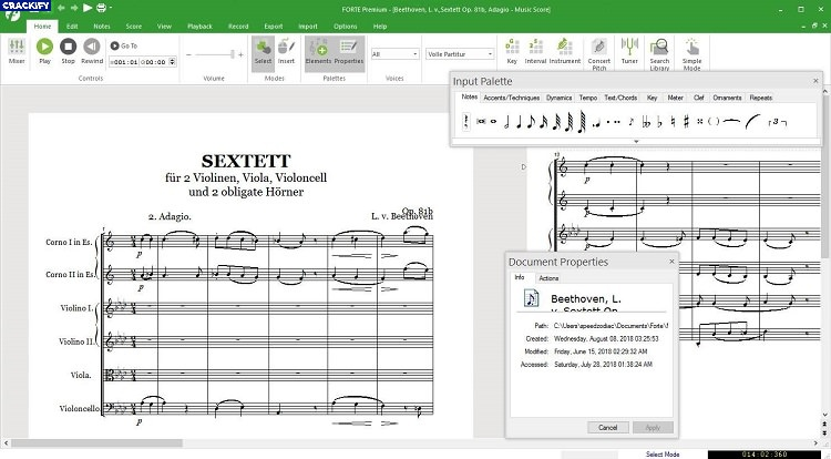 Forte Notation FORTE Premium Crack Free Download