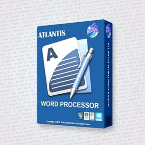 Atlantis Word Processor Cover